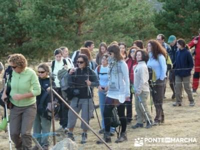 Pico Perdiguera, trekking en madrid; mapas de rutas